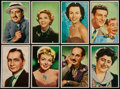 Non-Sport Cards:Lots, 1953 Bowman TV and Radio Stars Collection (32)....