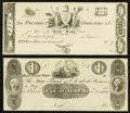 Obsoletes By State:New Jersey, NJ - Lot of 2 State Bank at Elizabeth Later Plate Proofs.. ... (Total: 2 notes)