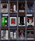 Basketball Cards:Lots, 2002-2008 Basketball Autograph BGS Graded Collection (12). ...