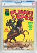 Magazines:Science-Fiction, Planet of the Apes #24 (Marvel, 1976) CGC NM- 9.2 Off-white towhite pages....