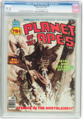 Magazines:Science-Fiction, Planet of the Apes #26 (Marvel, 1976) CGC VF/NM 9.0 Off-white towhite pages....