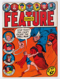 Golden Age (1938-1955):Miscellaneous, Feature Comics #30 (Quality, 1940) Condition: GD+....