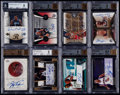 Basketball Cards:Lots, 2002-2010 Basketball Autograph BGS Graded Collection (8)....