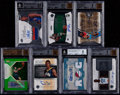 Basketball Cards:Lots, 2004-2010 Basketball Autograph BGS Graded Collection (7). ...