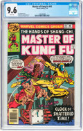 Bronze Age (1970-1979):Superhero, Master of Kung Fu #42 (Marvel, 1976) CGC NM+ 9.6 White pages....