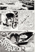 """Original Comic Art:Panel Pages, Dan Adkins and Bill Everett Chamber of Darkness #8 """"Believe It... or Not!"""" Story Page 2 Original Art (Marvel, 1970..."""