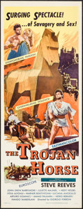 "Movie Posters:Action, The Trojan Horse (Colorama, 1961). Insert (14"" X 36""). Action.. ..."
