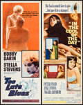"Movie Posters:Drama, Too Late Blues & Other Lot (Paramount, 1961). Rolled, Very Fine-. Inserts (3) (14"" X 36""). Drama.. ... (Total: 3 Items)"
