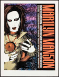 "Movie Posters:Rock and Roll, Marilyn Manson NY Concert Poster (Hammerstein Ballroom, 1998).Poster (19"" X 25""). Rock and Roll.. ..."