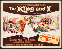 """The King and I (20th Century Fox, 1956). Half Sheet (22"""" X 28""""). Musical"""