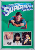 "Movie Posters:Action, Superman the Movie (Warner Brothers, 1978). Mylar Poster (21"" X30""). Action.. ..."