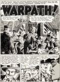 """Original Comic Art:Panel Pages, John Severin Two-Fisted Tales #38 """"Warpath!"""" Story Page 1Original Art (EC, 1954)...."""