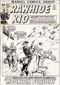 Original Comic Art:Covers, Larry Lieber and Syd Shores Rawhide Kid #93 Cover OriginalArt (Marvel, 1971)....