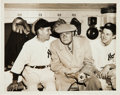 Baseball Collectibles:Photos, 1947 Babe Ruth Day Original News Photograph, PSA/DNA Type 1....
