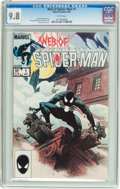 Modern Age (1980-Present):Superhero, Web of Spider-Man #1 (Marvel, 1985) CGC NM/MT 9.8 White pages....