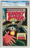 Silver Age (1956-1969):Western, The Ghost Rider #7 Bowling Green pedigree (Marvel, 1967) CGC NM+9.6 White pages....