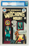 Bronze Age (1970-1979):Horror, The Witching Hour #40 (DC, 1974) CGC NM 9.4 Off-white pages....