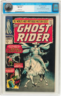 Silver Age (1956-1969):Western, The Ghost Rider #1 Pacific Coast pedigree (Marvel, 1967) CGC NM 9.4Off-white pages....