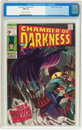 Silver Age (1956-1969):Horror, Chamber of Darkness #1 (Marvel, 1969) CGC NM 9.4 Off-white to white pages....