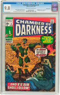 Bronze Age (1970-1979):Horror, Chamber of Darkness #5 Bowling Green pedigree (Marvel, 1970) CGCNM/MT 9.8 Off-white to white pages....