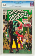 Bronze Age (1970-1979):Horror, Chamber of Darkness #8 (Marvel, 1970) CGC NM 9.4 Off-white to whitepages....