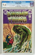 Bronze Age (1970-1979):Horror, Swamp Thing #1 (DC, 1972) CGC NM+ 9.6 White pages....