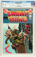Bronze Age (1970-1979):Horror, Swamp Thing #2 (DC, 1973) CGC NM+ 9.6 White pages....