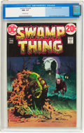 Bronze Age (1970-1979):Horror, Swamp Thing #4 (DC, 1973) CGC NM+ 9.6 Off-white pages....