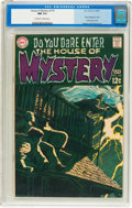 Silver Age (1956-1969):Horror, House of Mystery #179 (DC, 1969) CGC NM 9.4 Off-white to white pages....