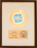 "Music Memorabilia:Awards, Poppy Family (Featuring Susan Jacks) ""Which Way You Goin' Billy?""RIAA White Mat Gold Record Sales Award (London 45-LON-129, 1..."