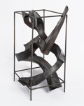 Post-War & Contemporary:Sculpture, Herbert Ferber (1906-1991). Homage to Piranesi, 1965. Cortensteel. 19-1/2 x 12 x 11 inches (49.5 x 30.5 x 27.9 cm). Inc...