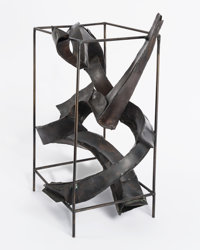 Herbert Ferber (1906-1991) Homage to Piranesi, 1965 Corten steel 19-1/2 x 12 x 11 inches (49.5 x