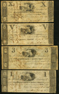 Obsoletes By State:Ohio, OH - Lot of 13 Ohio Early-Dated Banknotes. . ... (Total: 13 notes)