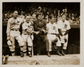 Baseball Collectibles:Photos, 1934 Babe Ruth at the World Series Original News Photograph,PSA/DNA Type II. ...