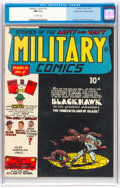 Golden Age (1938-1955):War, Military Comics #8 Mile High Pedigree (Quality, 1942) CGC NM 9.4 Off-white pages....