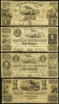 Obsoletes By State:Ohio, OH - Lot of 25 Ohio Issued Obsolete Notes. . ... (Total: 25 notes)