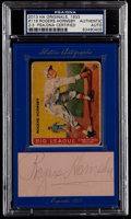 Autographs:Index Cards, 2013 Historic Autographs 1933 Goudey Roger Hornsby With CutSignature. ...