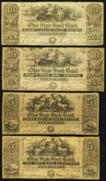 Obsoletes By State:Ohio, OH - Lot of 9 Ohio Issued Banknotes.. ... (Total: 9 notes)
