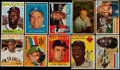 Baseball Cards:Lots, 1953-64 Bowman/Topps Baseball Stars and HoFers Collection (10)....