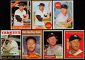 Baseball Cards:Lots, 1961-69 Topps Mickey Mantle Collection (7)....