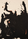 Paintings, Robert Motherwell (1915-1991). Nemesis, 1981-82. Acrylic on canvas. 60 x 44 inches (152.4 x 111.8 cm). Signed and dated ...