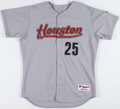 Baseball Collectibles:Uniforms, Jose Cruz Game Worn Houston Astros Jersey. ...