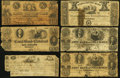 Obsoletes By State:Ohio, OH - Lot of 31 Ohio Low Grade and Damaged Obsolete Notes. . ...(Total: 31 notes)