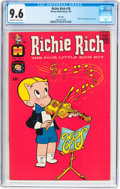 Silver Age (1956-1969):Humor, Richie Rich #18 File Copy (Harvey, 1963) CGC NM+ 9.6 Off-white to white pages....