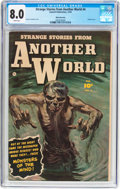 Golden Age (1938-1955):Horror, Strange Stories from Another World #4 White Mountain Pedigree(Fawcett Publications, 1952) CGC VF 8.0 White pages....