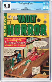 Vault of Horror #12 Northford Pedigree (EC, 1950) CGC VF/NM 9.0 Off-white pages