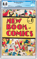 Golden Age (1938-1955):Humor, New Book of Comics #1 (DC, 1937) CGC VF 8.0 White pages....