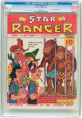 Golden Age (1938-1955):Western, Star Ranger #4 Mile High Pedigree (Harry 'A' Chesler, 1937) CGC NM+9.6 White pages....