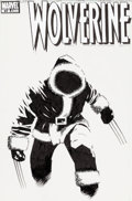 Original Comic Art:Covers, Laurence Campbell Wolverine #49 Cover Original Art (Marvel, 2007).... (Total: 2 Original Art)
