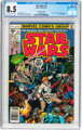 Star Wars #2 35 Cent Price Variant (Marvel, 1977) CGC VF+ 8.5 Off-white to white pages